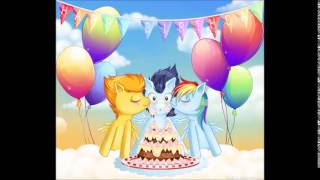 Clopfic: Happy birthday Soarin