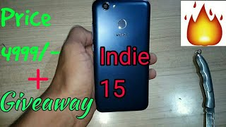 Intex Indie 15 UNBOXING(Full review) + Special Giveaway