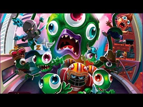 Zombie Tsunami #13 Игровой мультик для детей про зомби, веселый детский мультик игра для малышей.