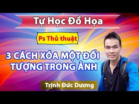 Hướng dẫn 3 Cách xóa chữ trên ảnh  bằng photoshop | thủ thuật