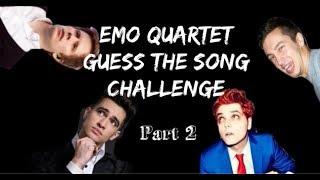 EMO QUARTET GUESS THE SONG CHALLENGE (PT. 2 - For CrankThatFrank)