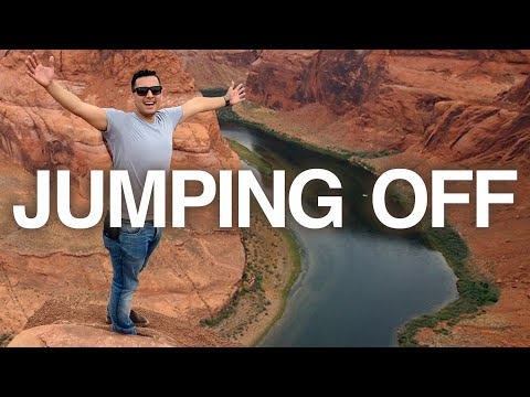 JUMPING OFF the GRAND CANYON | Horseshoe Bend | Travel VLOG