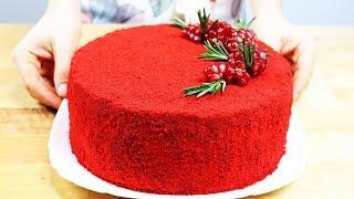 Торт КРАСНЫЙ БАРХАТ мой любимый рецепт Red velvet cake