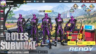 Rules of Survival - SHADOW PANTHER SUIT SQUAD CHALLENGE!