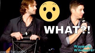 Adorable Little Girl Named 'Lilith' Asks J2 About Their Favorite Monster SPN TorCon 2017