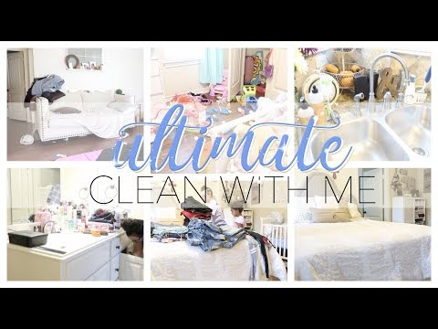 ULTIMATE CLEAN WITH ME | ALL DAY CLEANING | CLEANING MOTIVATION