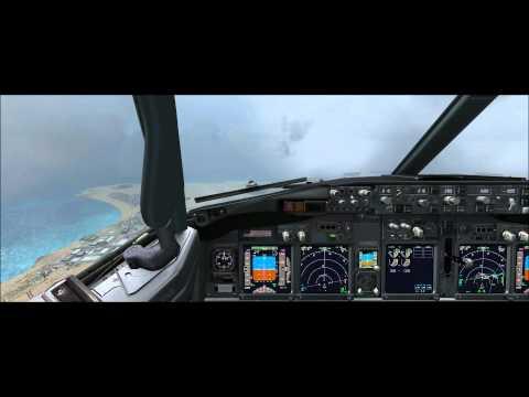 Landing Cape Verde, Sal island