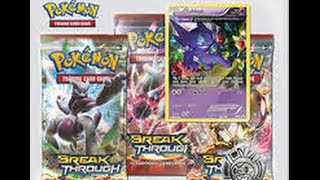 AWESOME POKEMON XY BREAKTHROUGH OPENING:SABELEYE BLISTER
