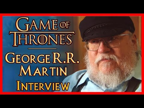George R.R. Martin Interview - (Game of Thrones)