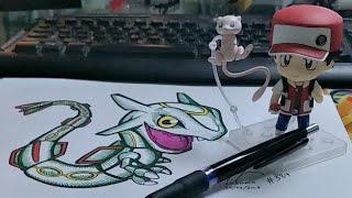 Chibi Mew Artwork Live from LD Studio Illustration