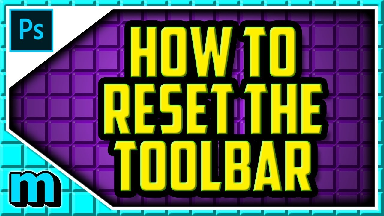 HOW TO RESET TOOLBAR IN PHOTOSHOP CC 2019 (EASY) - How To Reset Tools Bar  In Photoshop CC 2018