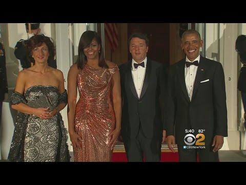 Michelle Obama Stuns At State Dinner