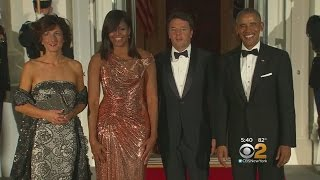 Michelle Obama Stuns At State Dinner