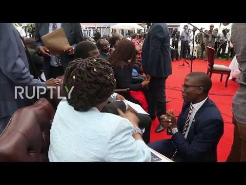 Zimbabwe: Mnangagwa swears in new cabinet including military 'coup' leaders