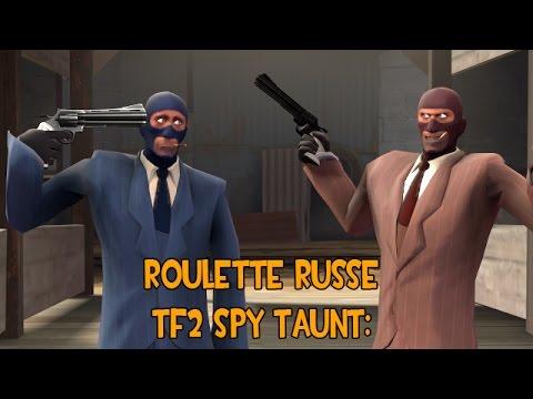 """Roulette Russe"" TF2 Workshop Spy Taunt"