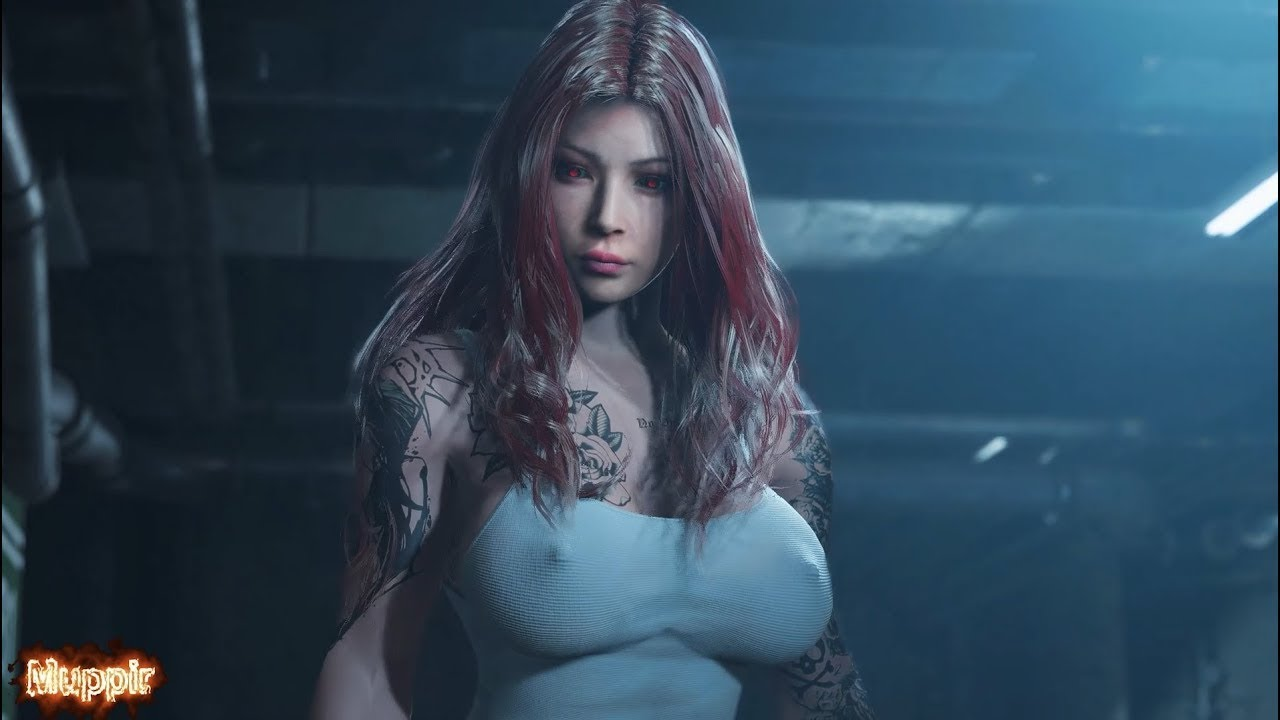 Resident Evil 2 Remake Ada as a Naughty Prison Girl Gameplay