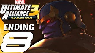 Marvel Ultimate Alliance 3 - Gameplay Walkthrough Part 8 - Ending & Final Boss (Full Game) Switch