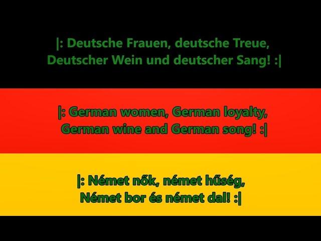 song a német flörtöl nagyon finom