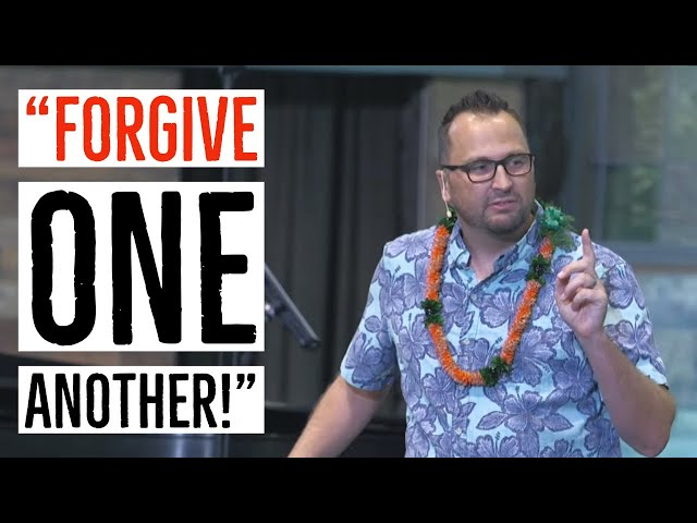 Kaimuki Christian Church: Forgive One Another - Colossians 3:12-15 - Pastor Bryan Sands