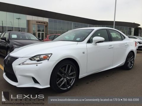 2015 lexus is 350 awd f sport review youtube. Black Bedroom Furniture Sets. Home Design Ideas
