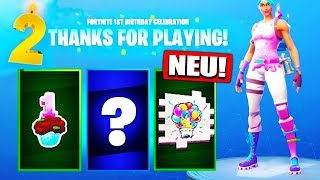 Fortnite 2nd Birthday Challenges & Rewards? ¿Artículos gratis? - Fortnite Battle Royale