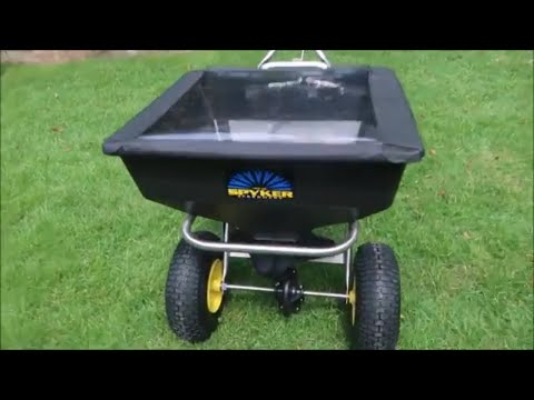 Spyker Ergo Pro Fertilizer Spreader  - Review and Giveaway