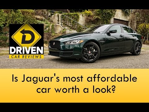 2017 Jaguar XE 25t Prestige Car Review