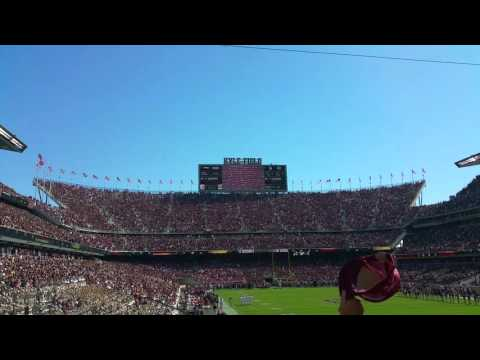 Flyover at Kyle Field - Texas A&M - College Station, TX