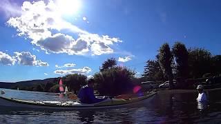 Trevignano - Bracciano in kayak