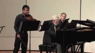 Luke Hsu - Brahms Violin Concerto in D major, Op. 77 (Allegro giocoso, ma non troppo vivace)