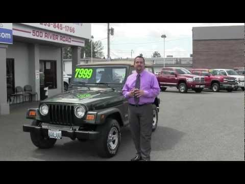 1997 Jeep Wrangler From Milam Mazda and Truck Country