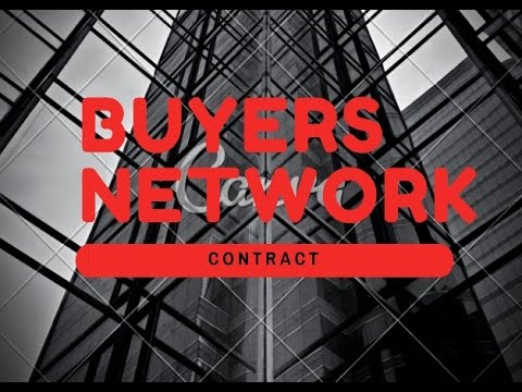 Increase profits - Buyers networks contract (Joint Venture)