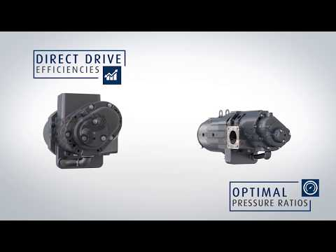CompAir Ultima - A New Generation of Compact, Variable Speed , Oil-Free Air Compressors