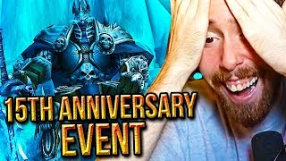 Asmongold Returns To RETAIL For WoW's 15th Anniversary Event (Archimonde/Lich King/Ragnaros)