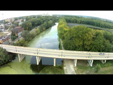 over the Illinois and Michigan canal in Lasalle Il. 9-18-2017