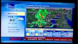 TWC Coverage & TWC Weatherscan & WJZ-13 Coverage: Severe Outbreak of 6-1-12 (#1)