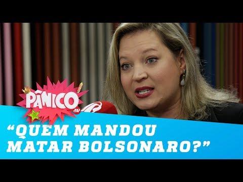 Joice Hasselmann: 'Quero saber quem mandou matar o Jair Bolsonaro'
