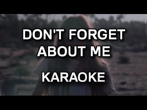 Cloves - Don't forget about me [karaoke/instrumental] - Polinstrumentalista