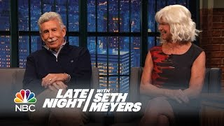 Why Seth's Dad Turned His Family Into Steelers Fans - Late Night with Seth Meyers