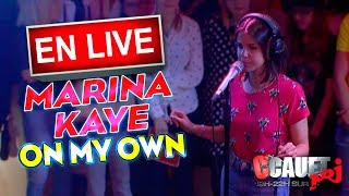 MARINA KAYE - ON MY OWN - LIVE