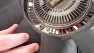 BMW E39 M5, 540i Fan / Fan Clutch DIY