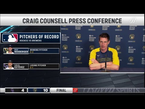 Counsell talks Wong's status, Brewers' big win over Rockies