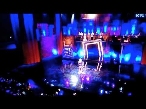 Ben Morris singing 'Let's Play a Love Scene' -Fame Live Show4 Sing-off