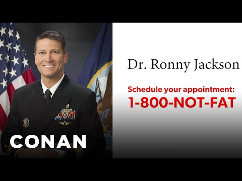 Trump's Doctor Has His Own TV Ad  - CONAN on TBS