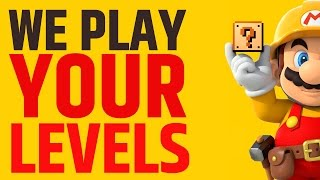 Super Mario Maker - Let's Plays your Levels!