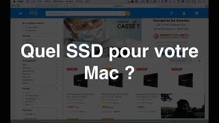 Quel SSD pour votre Mac ?