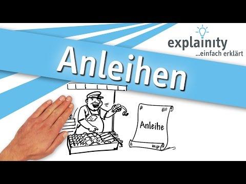 Anleihen Einfach Erklärt (explainity® Erklärvideo)