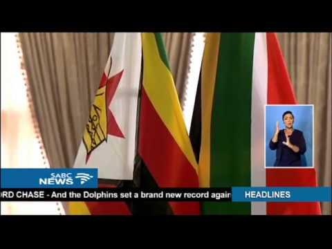 Mnangagwa urges SA to help rebuild Zimbabwe's economy