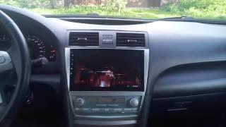 Магнитола Toyota Camry 40 v40 2007 2008 10 дюйма android 4.4(Магнитола для Toyota Camry 40 2008года Экран 10.2 дюйма. android 4.4. Со всеми функциями планшета., 2016-05-23T15:35:34.000Z)