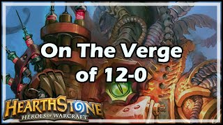 hearthstone on the verge of 12 0